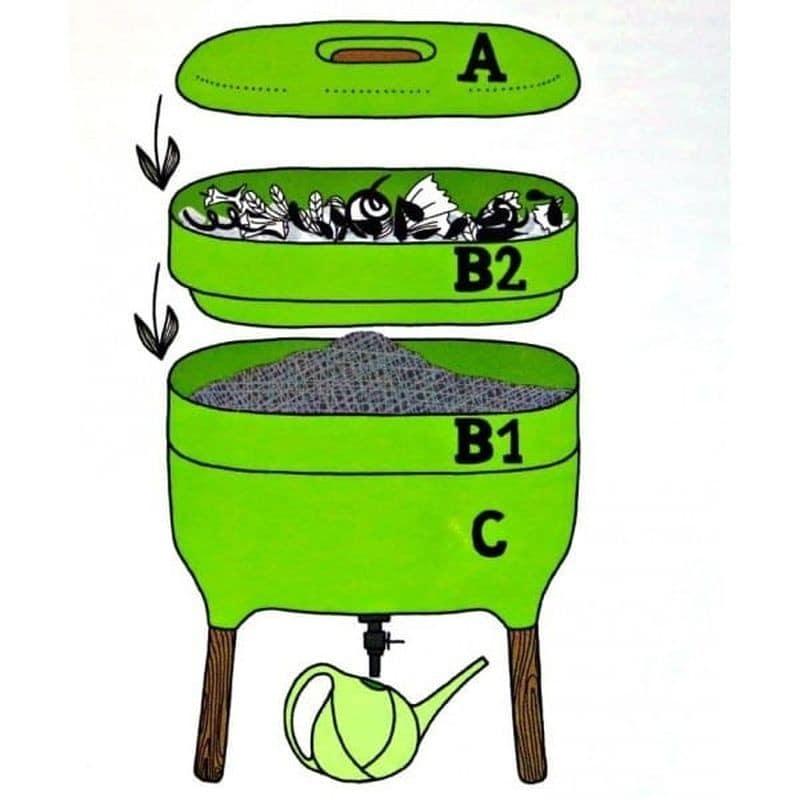 Kompostownik domowy - seria URBALIVE 9